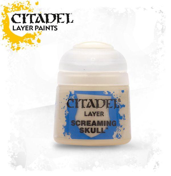 Citadel – Verf – Screaming skull