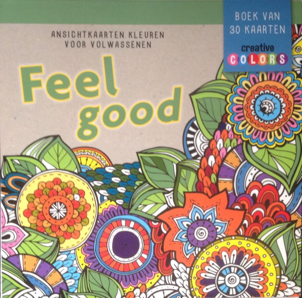 De Lantaarn – Ansichtkaarten kleurblok – Feel good