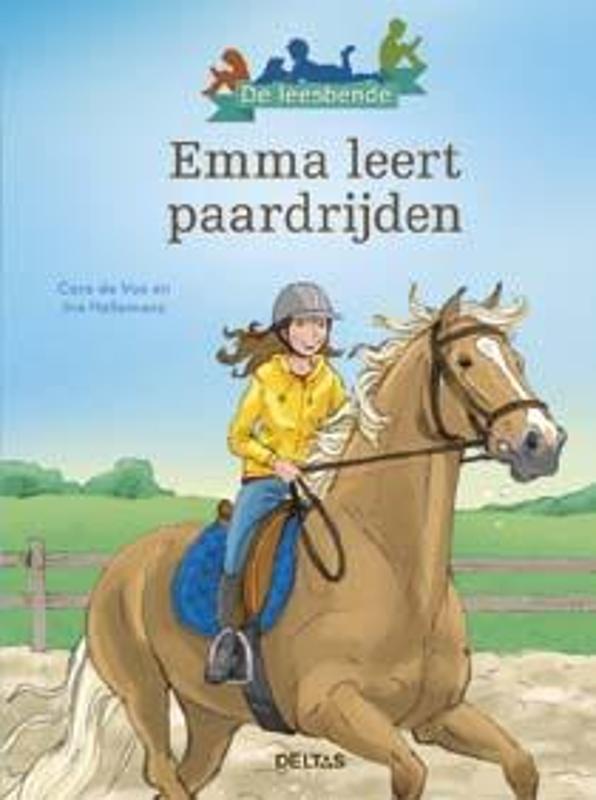 Deltas – Leesboek de leesbende – Emma leert paardrijden