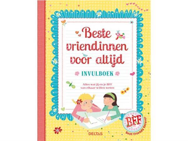 Deltas – Invulboek beste vriendinnen voor altijd
