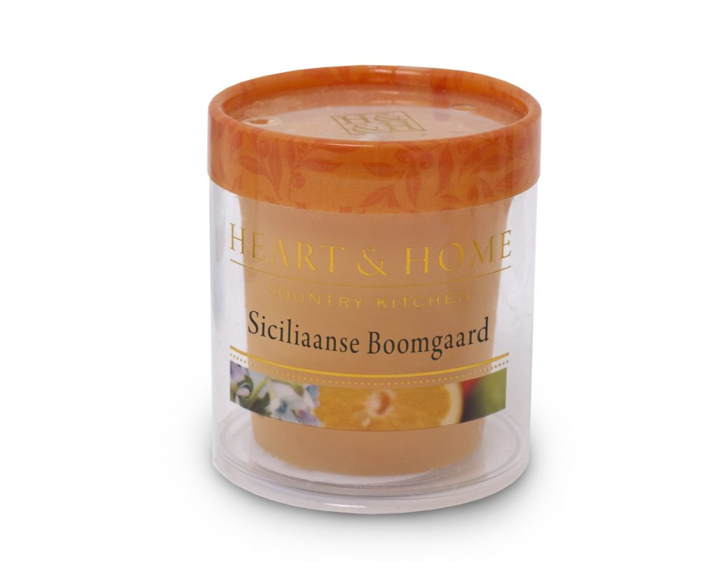 Heart & Home – Votive kaars – Siciliaanse boomgaard