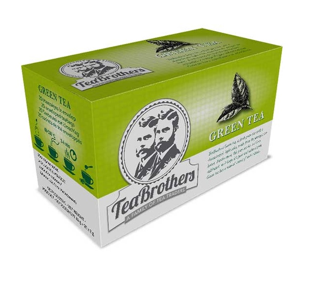 TeaBrothers – green tea – groene thee
