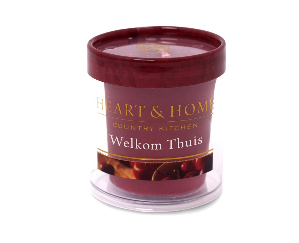Heart & Home – Votive kaars – Welkom thuis