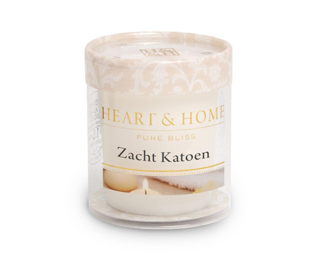 Heart & Home – Votive kaars – Zacht katoen
