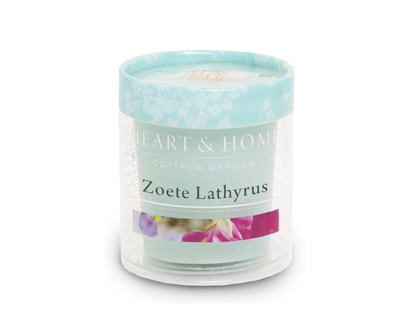 Heart & Home – Votive kaars – Zoete Lathyrus