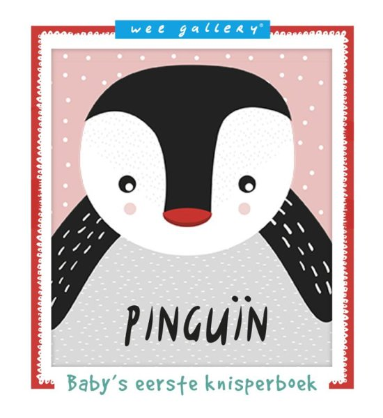 Ploegsma – baby's eerste knisperboek – pinguïn