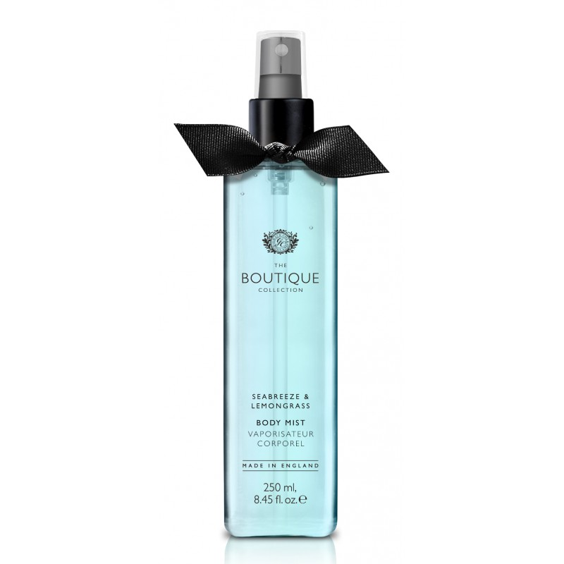 The Boutique – body mist – sea breeze & lemongrass