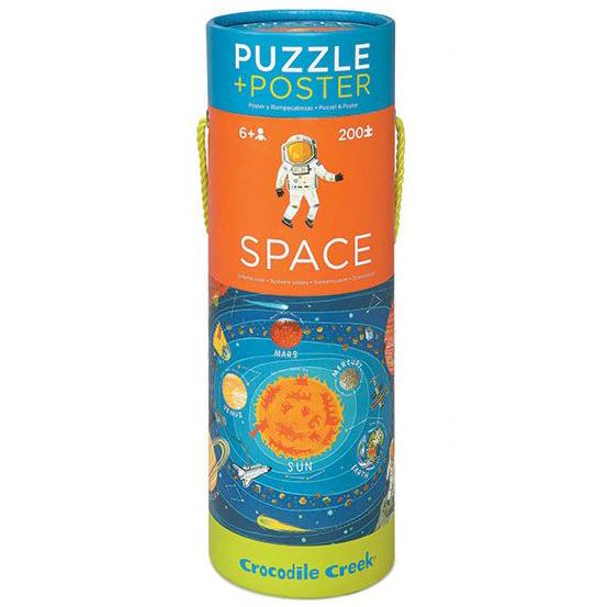 Crocodile Creek – puzzel – zonnestelsel 200 pcs