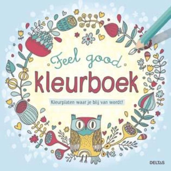 Deltas – Feel good kleurboek