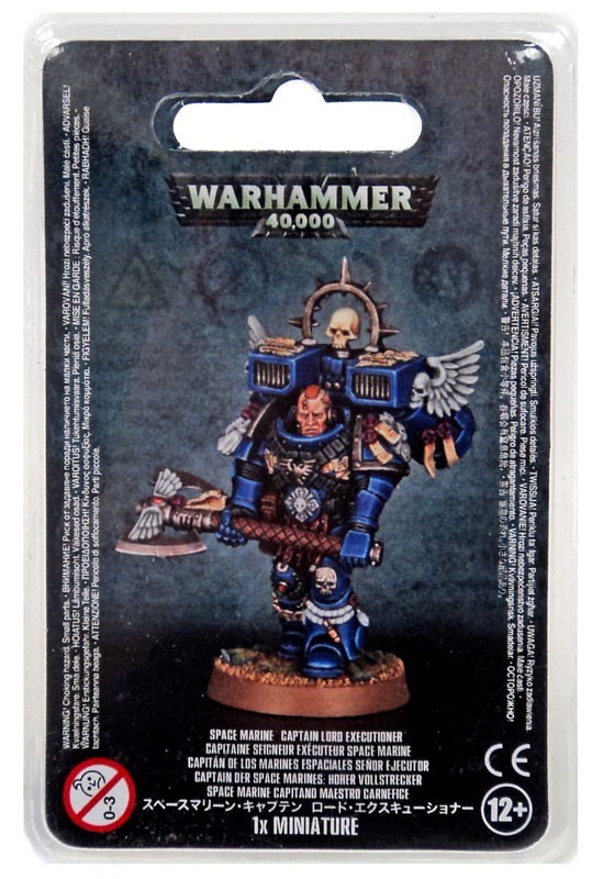 Warhammer 40,000 – captain lord executioner – space marine