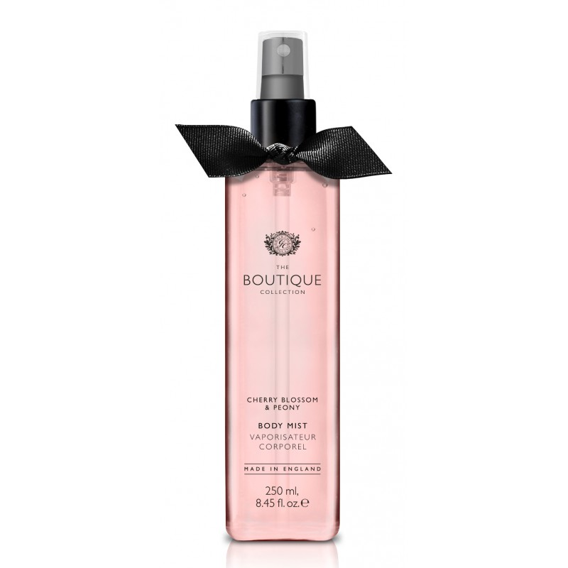 The Boutique – body mist – cherry blossom & peony