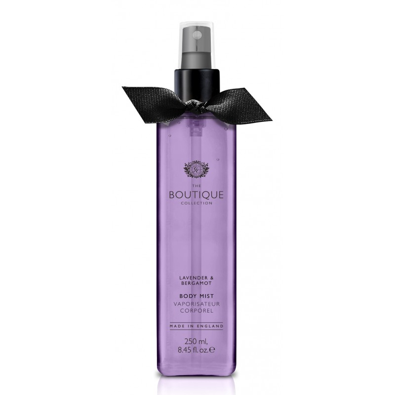 The Boutique – body mist – lavender & bergamot