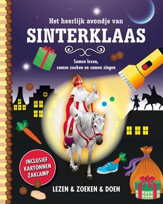 Uitg. Lantaarn – zaklampboek – het heerlijk avondje van Sinterklaas