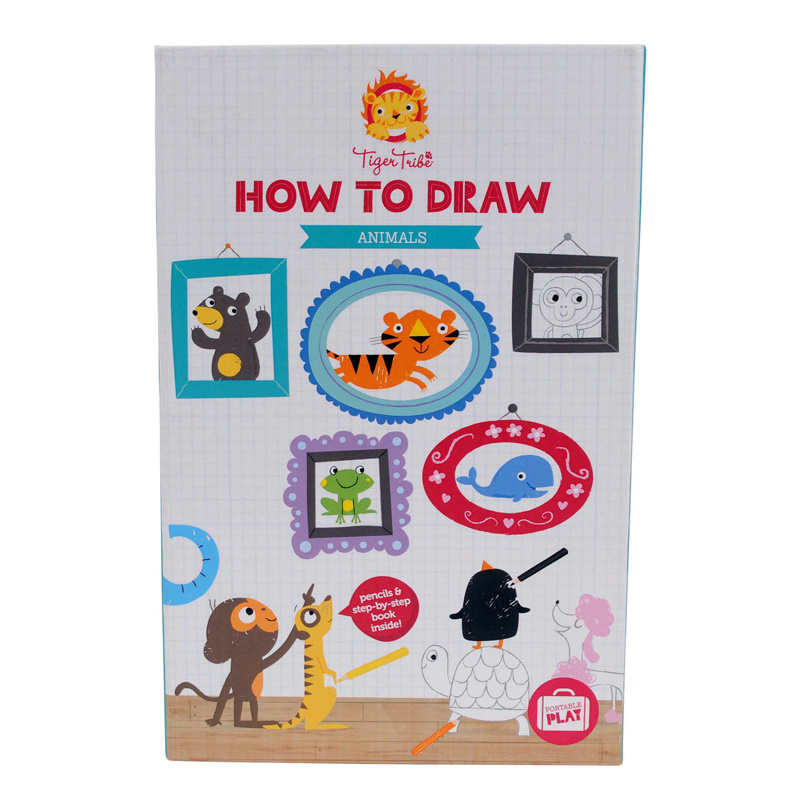 Tiger Tribe – how to draw – animals