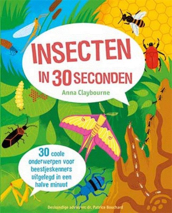 De Lantaarn – Boek insecten in 30 seconden