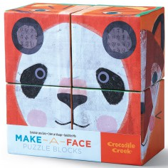 Crocodile Creek – blokkenpuzzel make-a-face