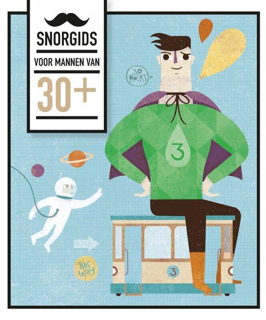 Uitg. Snor – Cadeauboek snorgids voor mannen van 30
