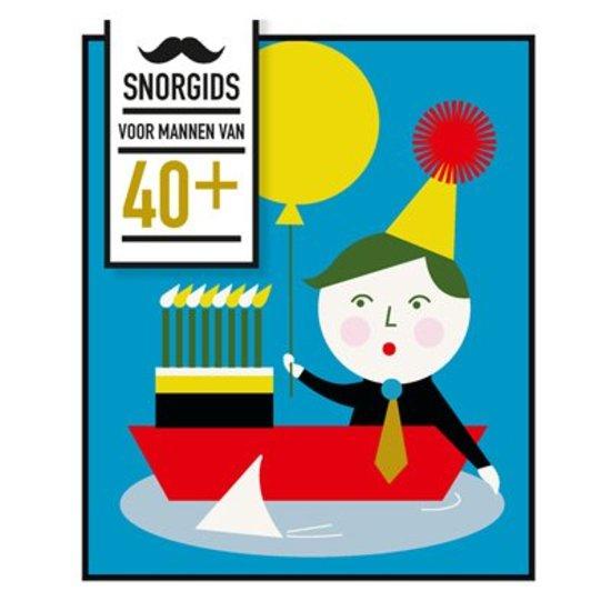 Uitg. Snor – Cadeauboek snorgids voor mannen van 40