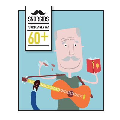 Uitg. Snor – Cadeauboek snorgids voor mannen van 60