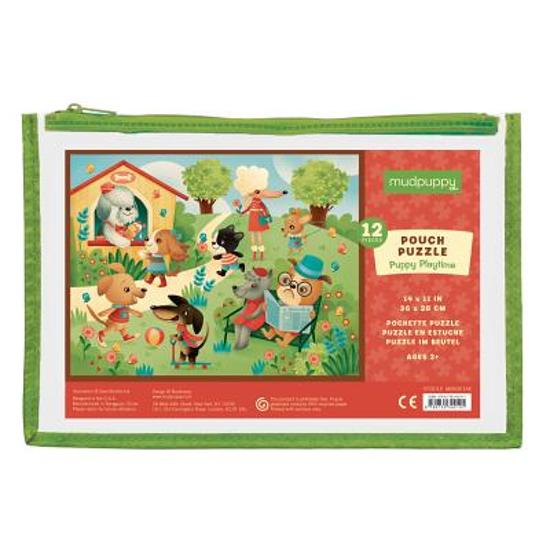 Mudpuppy – puzzel puppy playtime 12 pcs