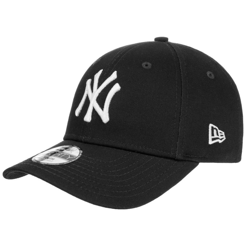 New era pet – NY Yankees 9forty MLB League BA youth – zwart