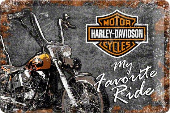 Nostalgic Art – metalen wandbord – Harley-Davidson favorite ride