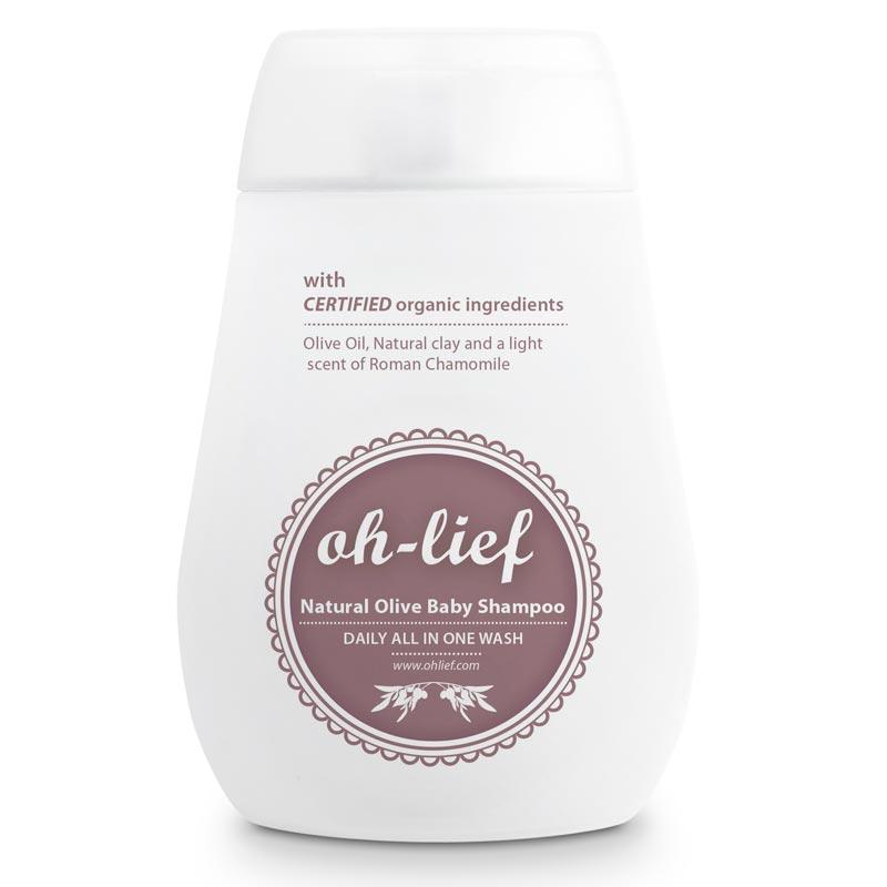 Oh-Lief – baby shampoo – natural olive baby shampoo