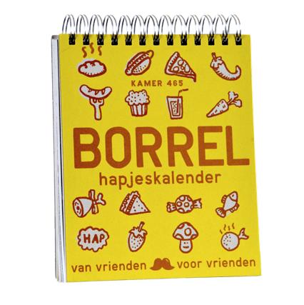Uitg. Snor – borrelhapjeskalender