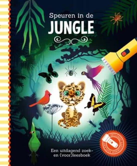 Uitg. Lantaarn – zaklampboek – speuren in de jungle
