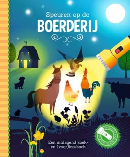 Uitg. Lantaarn – zaklampboek – speuren op de boerderij