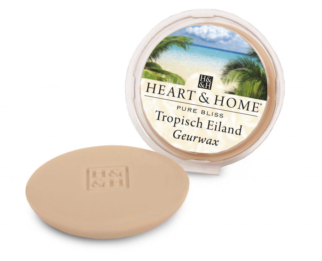 Heart & Home – Geurwax – Tropisch eiland