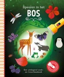 Uitg. Lantaarn – zaklampboek – speuren in het bos