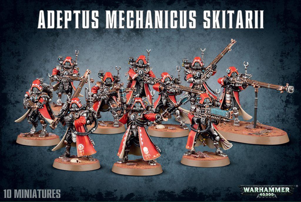 Warhammer 40,000 – adeptus mechanicus skitarii