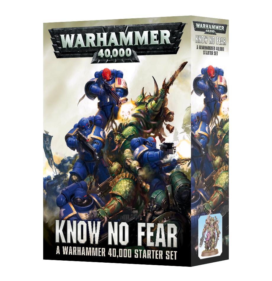 Warhammer 40,000 – know no fear – starter set
