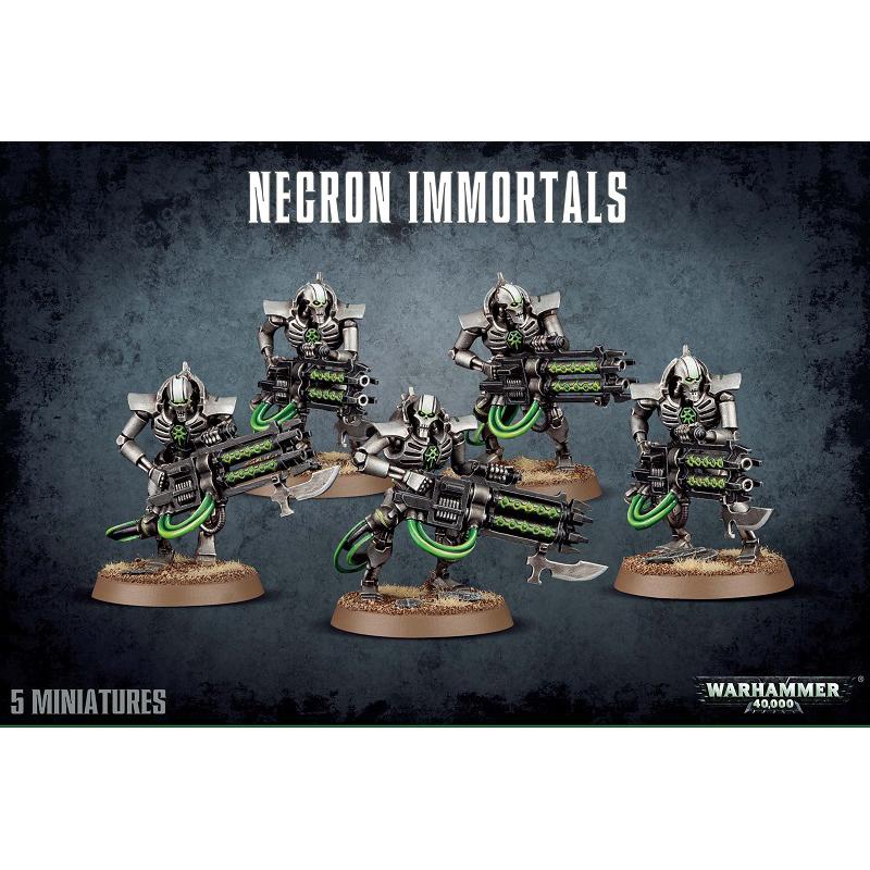 Warhammer 40,000 – necron immortals