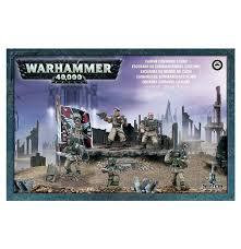 Warhammer 40,000 – astra militarum cadian command squad