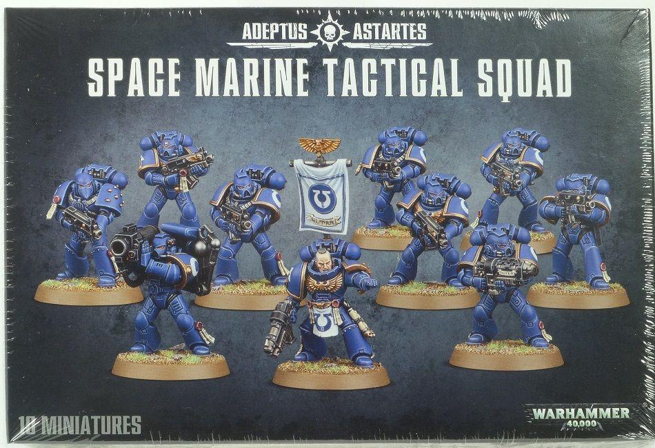 Warhammer 40,000 – space marine tactical squad – adeptus astartes
