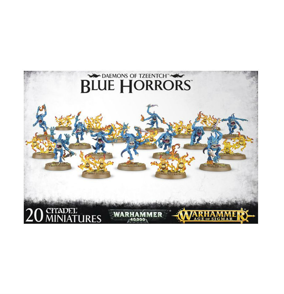 Warhammer age of sigmar – daemons of tzeentch – blue horrors
