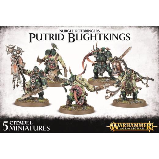 Warhammer age of sigmar – nurgle rotbringers – putrid blightkings