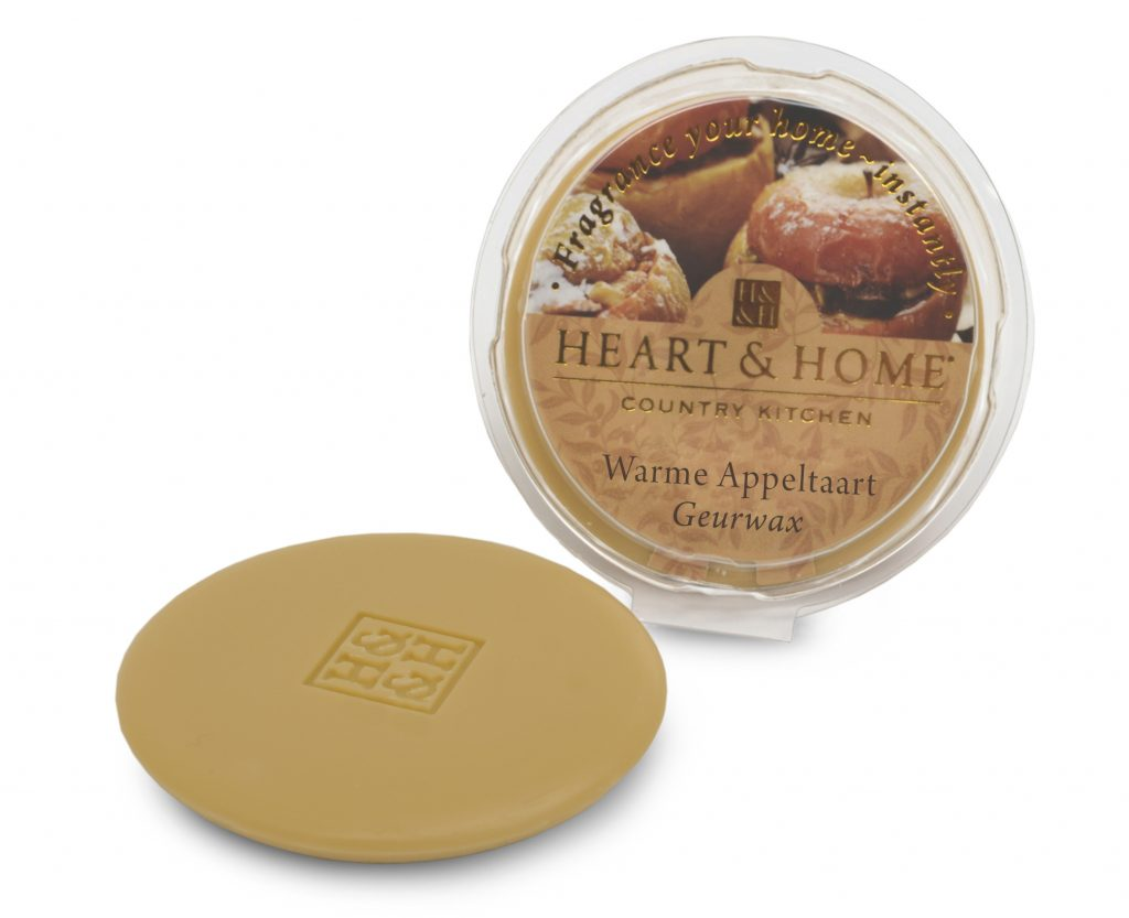 Heart & Home – Geurwax – Warme appeltaart