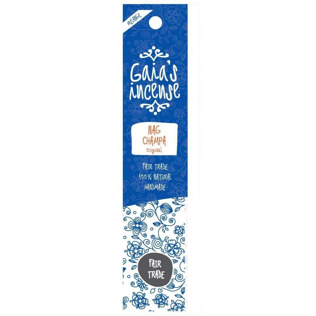 Gaia's Incense – Wierook – Nag Champa original