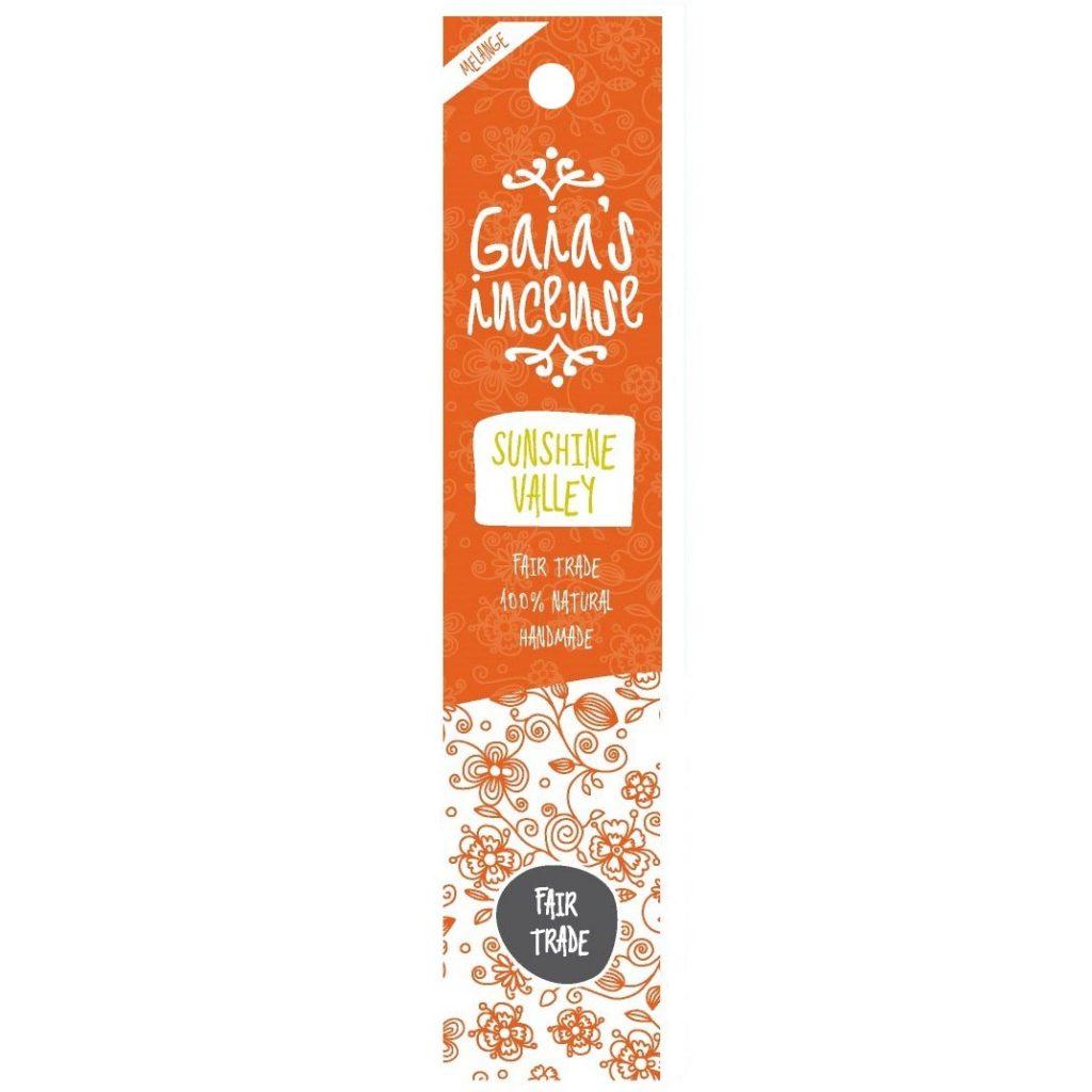 Gaia's Incense – Wierook – Sunshine valley