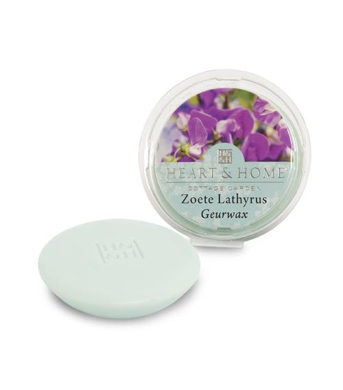 Heart & Home – Geurwax – Zoete lathyrus