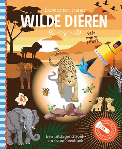 Uitg. Lantaarn – zaklampboek – speuren naar wilde dieren