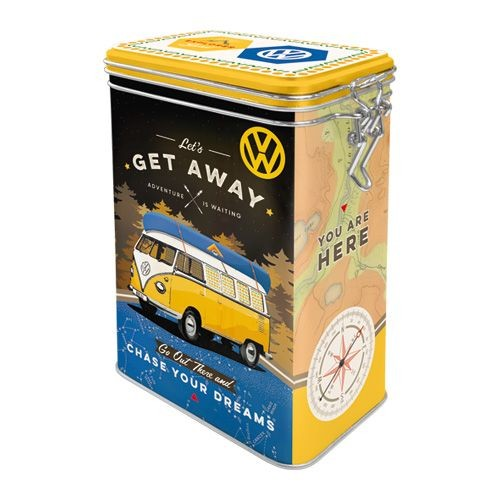 Nostalgic Art – voorraadblik VW – let's get away