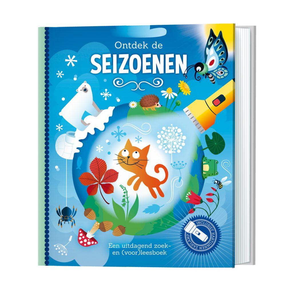 Uitg. Lantaarn – zaklampboek – ontdek de seizoenen