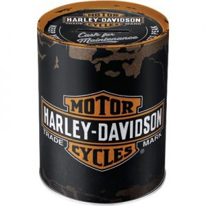 nostalgic art spaarpot harley davidson