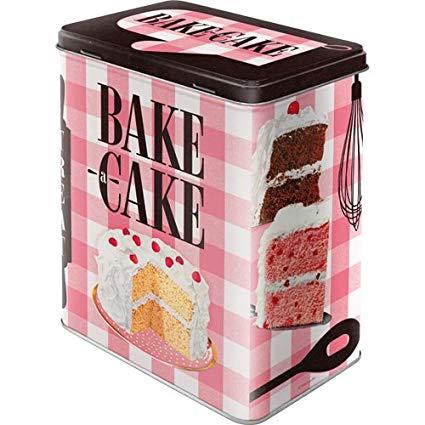 nostalgic art voorraadblik bake a cake